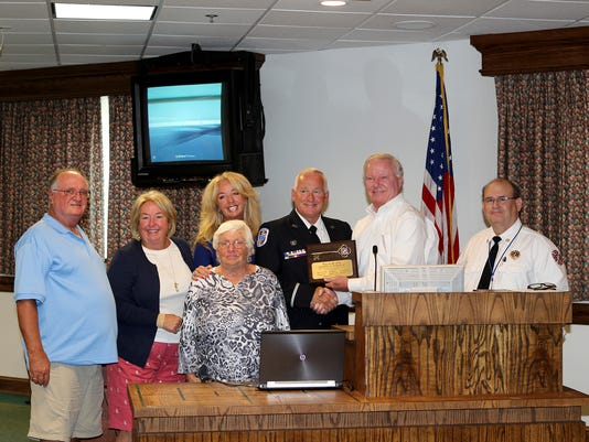 OC Fire Department member retires