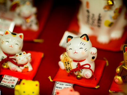 The Lucky Cat Museum is open from 3 to 6 p.m. Tuesday-Saturday,