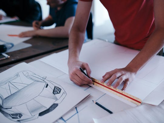 A career in automotive design is among those students