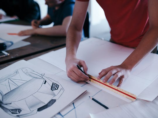 A career in automotive design is among those students can pursue at CCS.