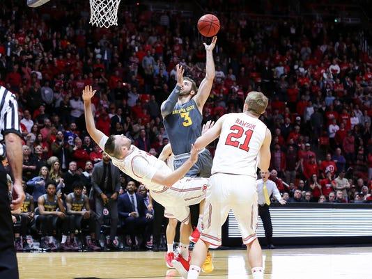 NCAA Basketball: Arizona State at Utah