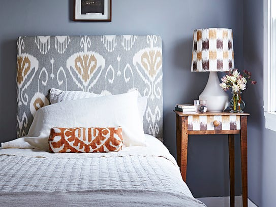 Add some interest to your bedroom with a medley of
