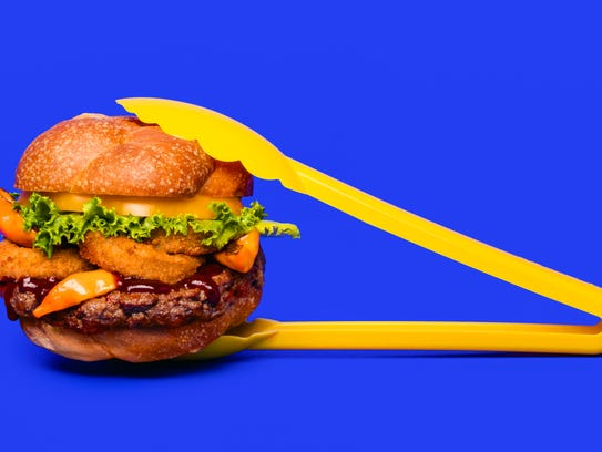 Impossible Burger is presented by B Spot Burgers in