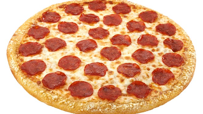 Large 1-topping pizza from Hungry Howie's