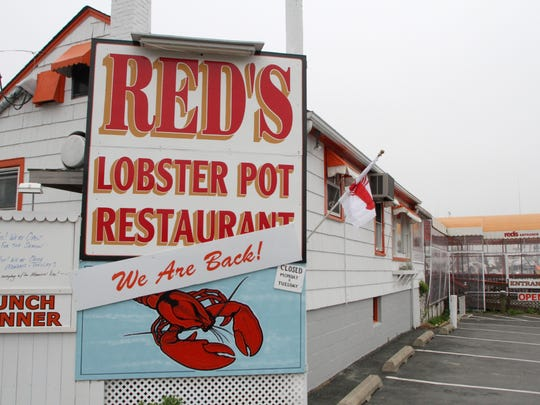 Red's Lobster Pot, a summertime favorite, will close for the season in October.