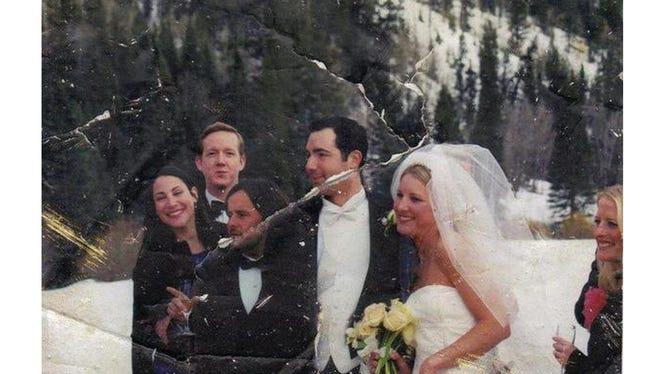 Elizabeth Stringer Keefe's long search for the owner of this photo, found in the rubble of the World Trade Center, has come to an end.