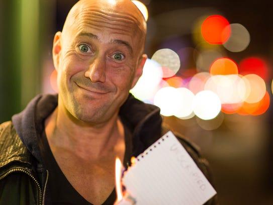 Comedian Aaron Berg