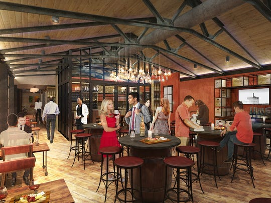 Wine Bar George, a 210-seat wine bar reminiscent of a winemaker's home estate, is at Disney Springs at Walt Disney World Resort. Opened in spring 2018, Master Sommelier George Miliotes brings his expertise to the eponymous bar which features wines from famed growing regions in the U.S. and abroad.