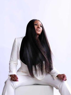 Fox 2 News' Maurielle Lue models for Sieva Hair.