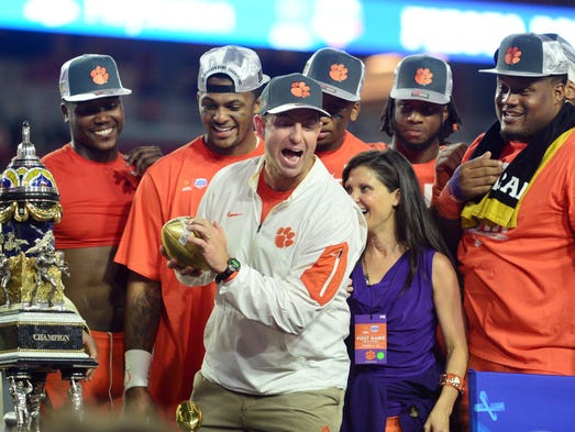 Dec. 31: Clemson defeated Ohio State, 31-0, to win
