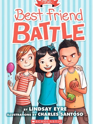 """""""The Best Friend Battle"""" is profiled in this month's books column."""