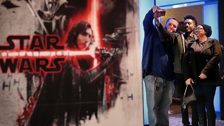 Memphis 'Star Wars: The Last Jedi' fans arrive in full Force