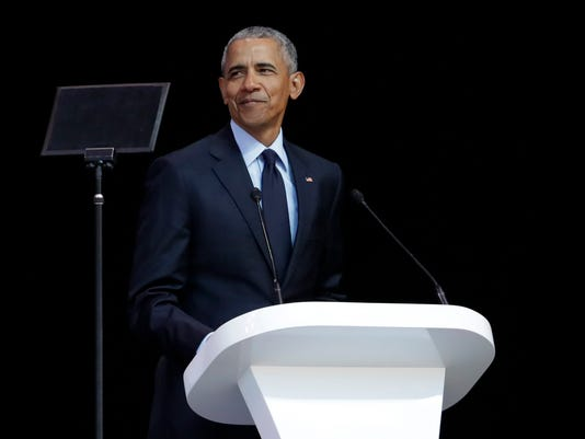 AP APTOPIX SOUTH AFRICA OBAMA MANDELA SPEECH I ZAF