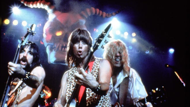 """MGM Home Entertainment -- Harry Shearer Christopher Guest and Michael McKean (left to right) put the petal to the metal in """"This Is Spinal Tap"""" released to DVD. <b>06/07/2010 - C01 - MAIN - 1ST - THE INDIANAPOLIS STAR</b><br />It's wild: In """"This is Spinal Tap,"""" (from left) Harry Shearer, Christopher Guest and Michael McKean show the absurdity of the rock 'n' roll lifestyle."""