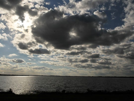Taylor Creek Reservoir, constructed in the 1960s, is located on Deseret Ranch property off of Nova Road, south of State Road 520 in Osceola County.
