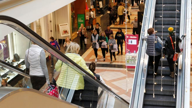 Sixteen iPhones XL were stolen from a kiosk at Mayfair Mall on April 10.