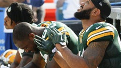 Green Bay Packers players take issue with NFL's new policy on the national anthem