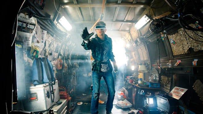 """Tye Sheridan stars as Wade Owen Watts/Parzival in """"Ready Player One""""."""