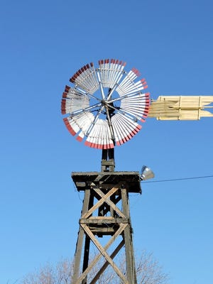 The windmill is a symbol of water in the west.