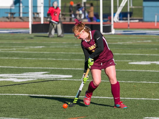 Senior Alexa Wentz has been playing varsity field hockey for Whitney Point since eighth grade and the Golden Eagles have won state titles in all of her seasons.