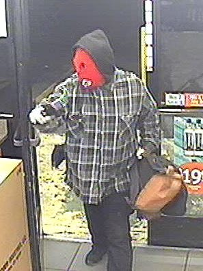 Police are looking for any information on an armed robbery suspect who stole cigarettes and money from a Circle K in November.