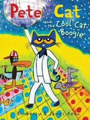 'Pete the Cat and the Cool Cat Boogie' book cover.