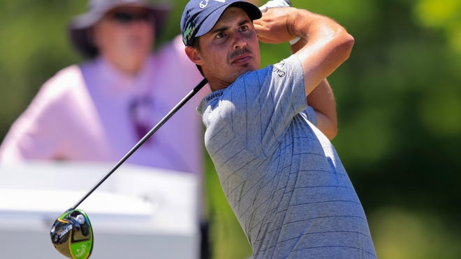 Chase Koepka, shown during the third round of the Zurich Classic at TPC Louisiana last year,  won the Minor League Golf Tour Championship on Wednesday in Jupiter.