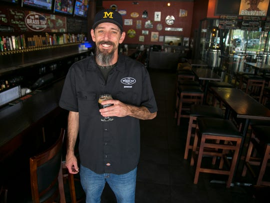Mike Rose is the brewer for South Cypress Brewing.