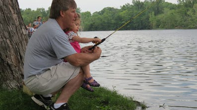 The Union Sportsmen's Alliance held a 'Take Kids Fishing Day' event held in La Crosse on June 7 and 8.