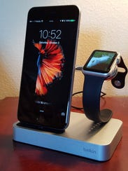 Belkin charge dock for Apple Watch and iPhone sells