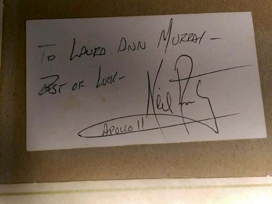Laura Murray Cicco claims she owns a vial of moon dust