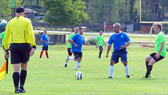 Soccer is good at any age and especially at the White Mountain Sports Complex in the cool mountains of Ruidoso.