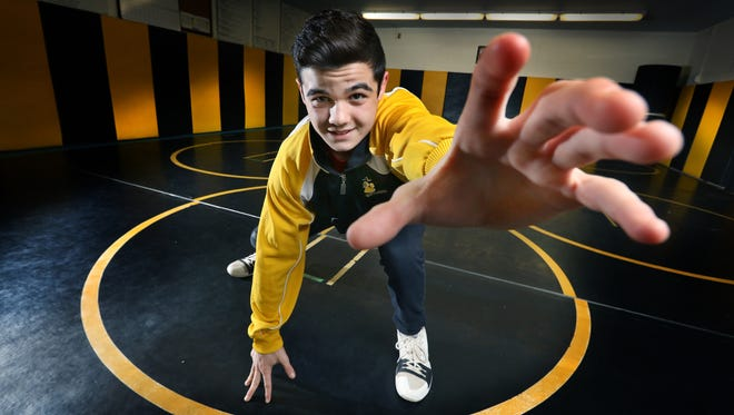 Anthony Noto of Honeoye Falls-Lima is the AGR Division II Wrestler of the Year.