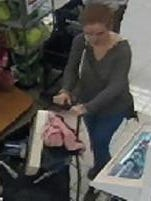 Stolen credit card suspect
