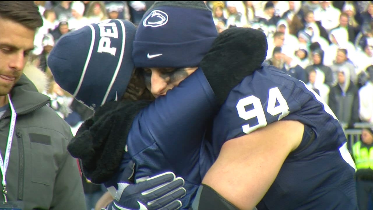 YDR PSU reporter Frank Bodani talks about the 6 seniors who were the last of the Joe Paterno recruits who stayed at Penn State despite the scandal which they came into.