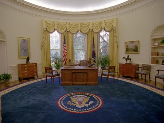 AP Oval Office Decor