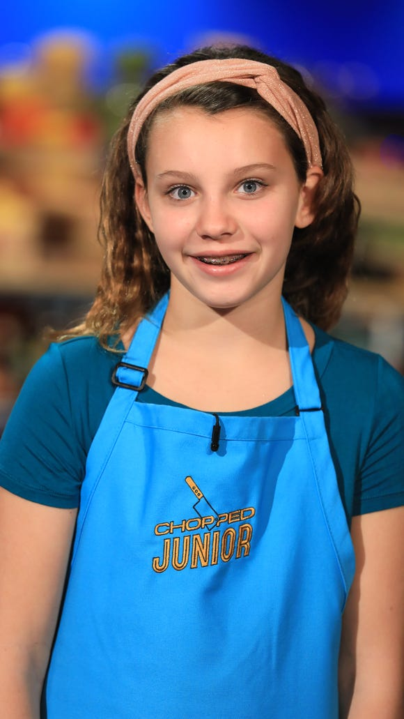 Allie Dubler is a 12th grade student in Medford who is competing on 'Chopped Junior'  on Tuesday night.