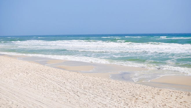 There are several white sand beaches along the 30A corridor.