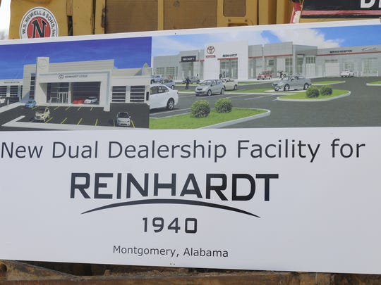 Reinhardt Toyota / Lexus recently opened its new facility in Montgomery.