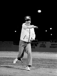 Country music star Conway Twitty, a Nashville Sounds