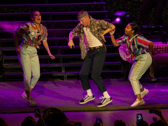 Macklemore performs at the  PNC Arts Center in Holmdel