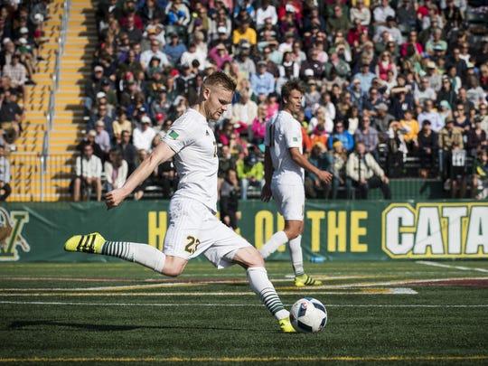 Dartmouth vs. Vermont Men's soccer 09/24/16