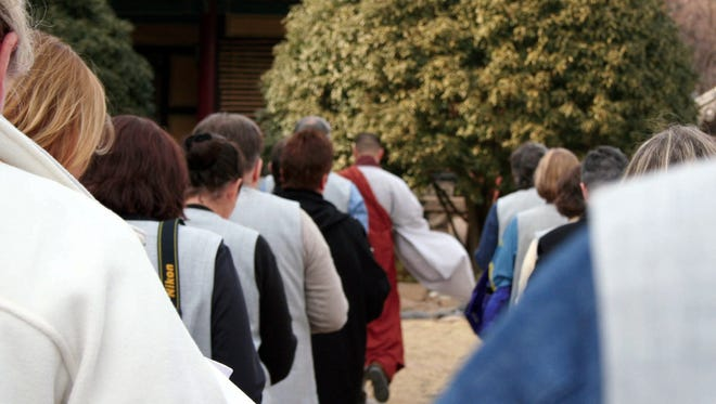 Staying at a Buddhist temple in South Korea means rigid rules, little sleep – and a once-in-a-lifetime memory.