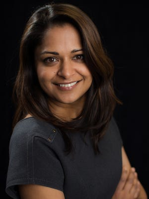 The annual USA TODAY Investment Roundtable contributor Savita Subramanian, Head of U.S. Equity & Quantitative Strategy at BofA Merrill Lynch, in New York City, on December 5, 2014.