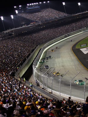 A general view of the 2011 Quaker State 400 at Kentucky Speedway.