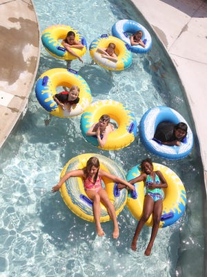 Visitors can start using the Lazy River at the Florence Aquatic Center on May 28.