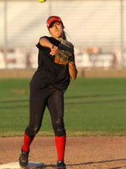 Jamiana Gateb, of Palm Desert High School softball