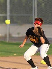 Trinity Villa, of Palm Desert High School softball