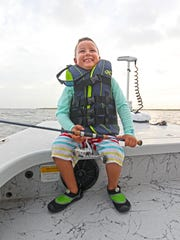 Marco Peña is about as eager  as any angler I've met at any age.