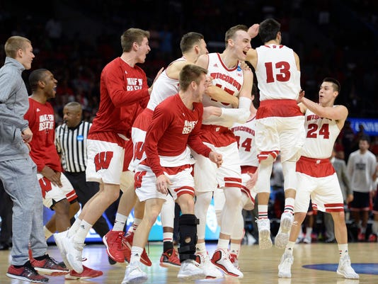 NCAA Basketball: NCAA Tournament-West Regional-Wisconsin vs Arizona